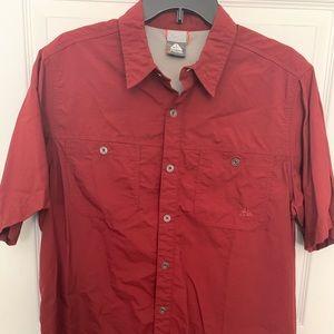Nike ACG Mens Short Sleeve Red Outdoorsmen Shirt